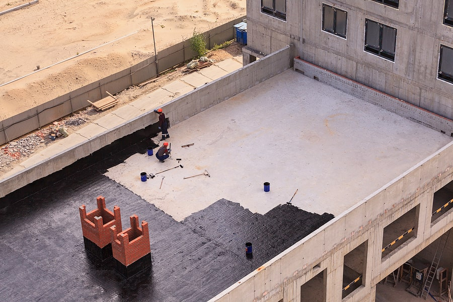 flat roof waterproofing singapore services