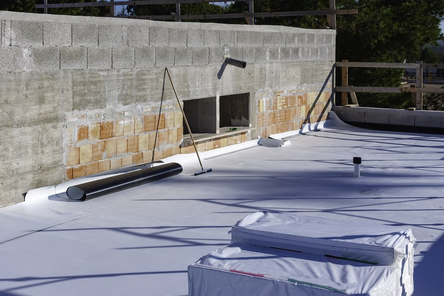 specialist waterproofing contractors tools